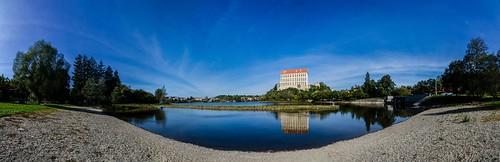 panorama castle landscape zámek krajina plumlov