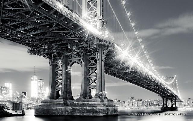 Manhattan Bridge - Brooklyn, New York City