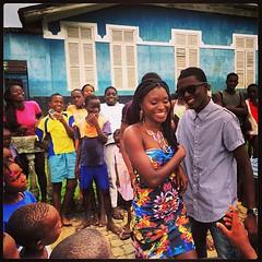 """Protagonistas do episódio """"Violençia Doméstica"""" apreendidos pelas crianças de Angolares. #Wê"""