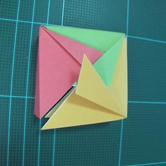วิธีพับกล่องของขวัญแบบโมดูล่า (Modular Origami Decorative Box) โดย Tomoko Fuse 030