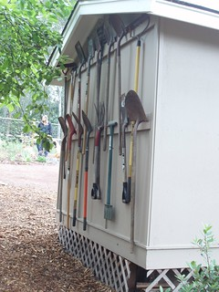 Garden tool storage | by J&T26
