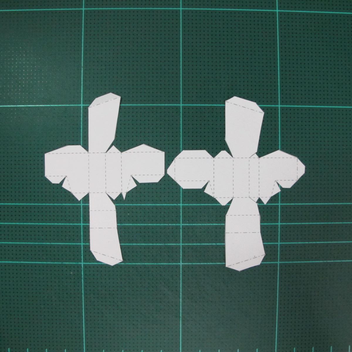 วิธีทำโมเดลกระดาษตุ้กตา คุกกี้สาวผู้ร่าเริง จากเกมส์คุกกี้รัน (LINE Cookie Run – Bright Cookie Papercraft Model) 017
