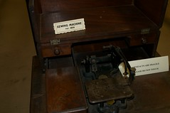 Pioneer Museum of Alabama - antique sewing machine