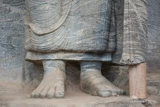 Sri Lanka. Polonnaruwa.  Gal Vihara.