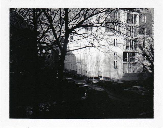 Rauhreif in der City/ Hoarfrost in the city - I shot film