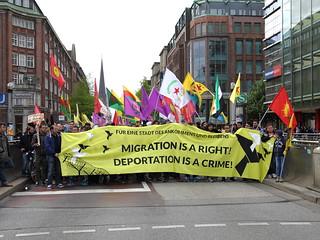 Demonstration, Hamburg, Germany, 2016-05-14   by Rasande Tyskar