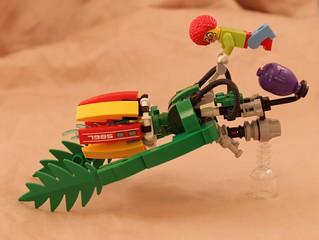 Squirting flower speeder bike | by trochanter