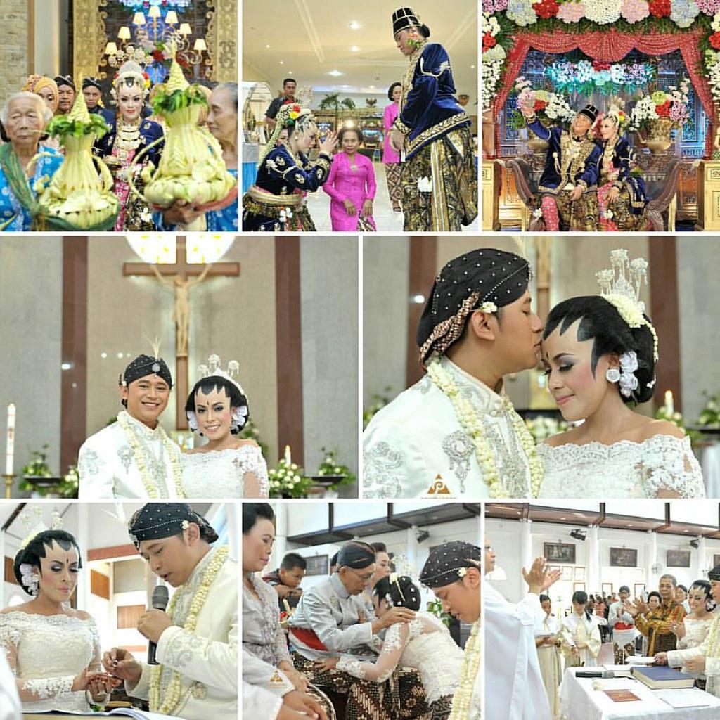 Foto pernikahan pengantin adat Jawa dengan Baju Pengantin   Flickr