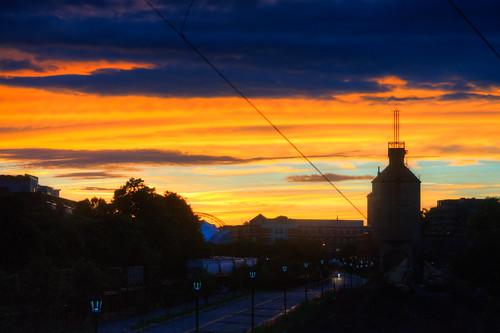 sunset tower virginia charlottesville coal