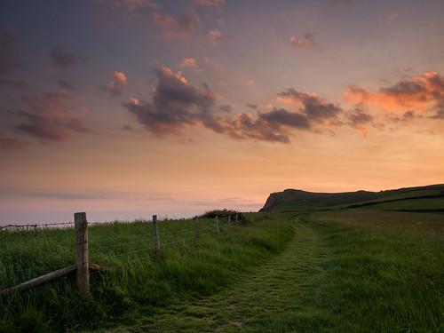 sunset photography dorset eype southwestcoastalpath monarchsway damianward thorncombebeacon ©damianward