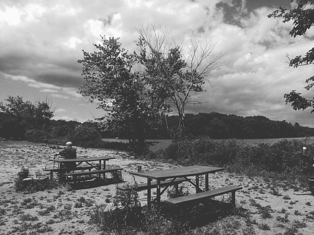 Solitude  The clouds paint a story The trees whisper secrets I ponder  What do they say? In solitude I keep silent So I can listen.  #alone #solitude #silence #contemplation # monochrome #phonephotography #lake #solitude #poetry #poems  #Massachusetts #bl