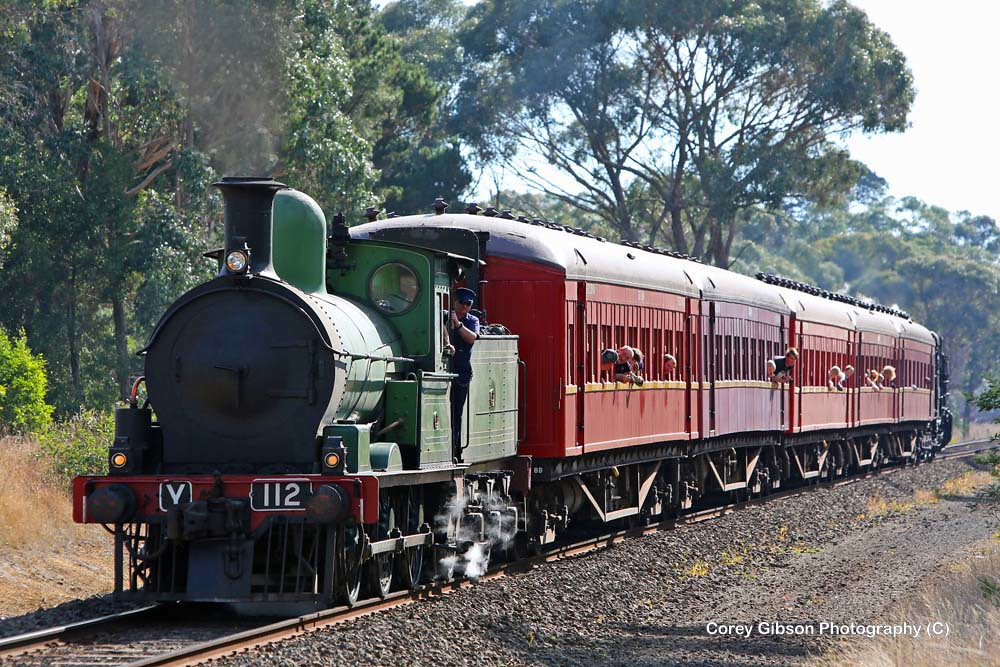 Steamrail Y112 by Corey Gibson