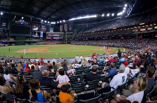 Dbacks vs. Mets at Chase Field | by Not That Bob James