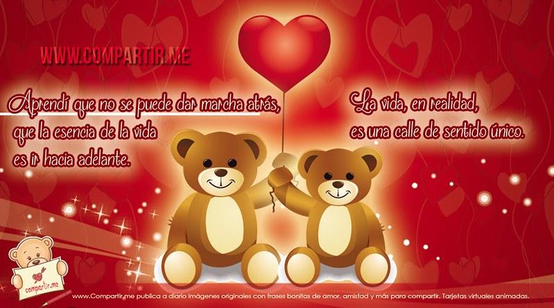 Frases De Amor Frases Bonitas Con Ositos Tiernos Unidos P