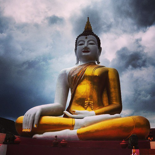 #Buddha and the approaching #rain | by patrickdevries2003