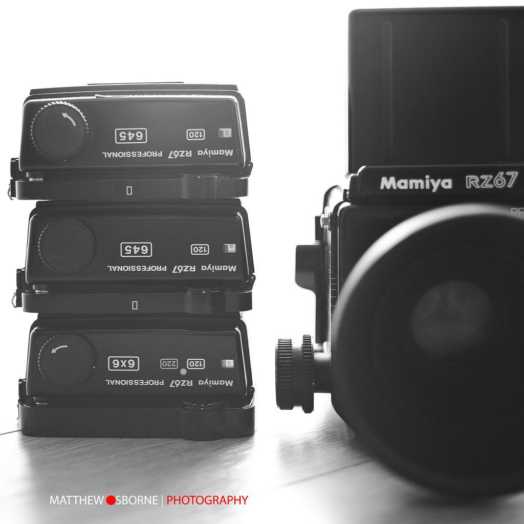 Mamiya RZ 645 Film Back | I just treated my Mamiya RZ67 Pro