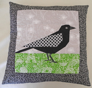 Magpie Pillow