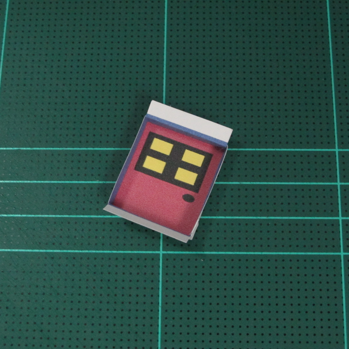 วิธีทำโมเดลกระดาษเป็นรูปบ้าน (Little House Papercraft Model) 005