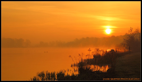 morning yellow misty sunrise norfolk norwich broad whitlingham canonef24105mmf4lusm jammo canoneos6d