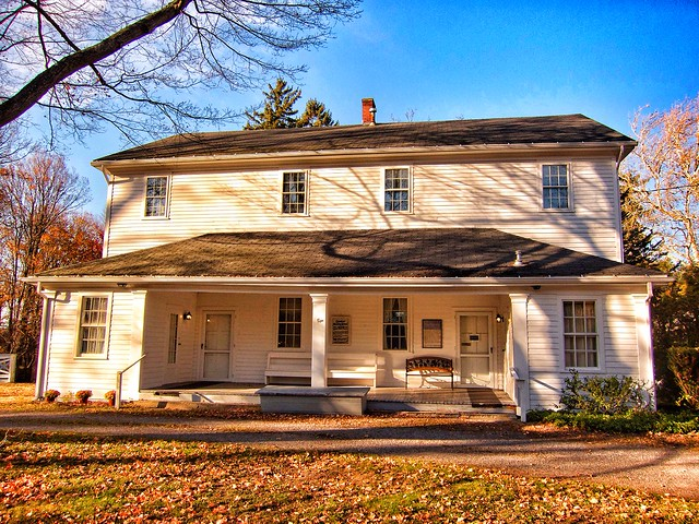 Quaker Meeting House ~ 1820 ~ Old Orchard Park ~ Ny ~ Historical