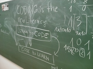 coding is the new literacy | by michael pollak