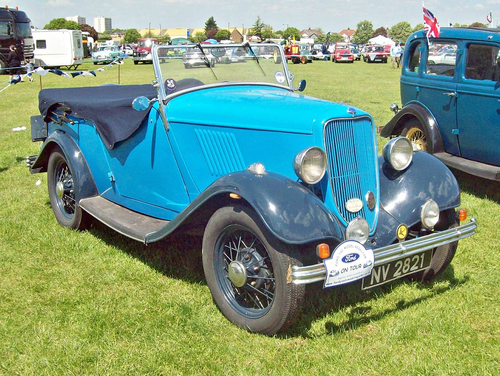 456 Ford Model Y Tourer (1933) | Ford Y 8HP (1932-33) Engine… | Flickr