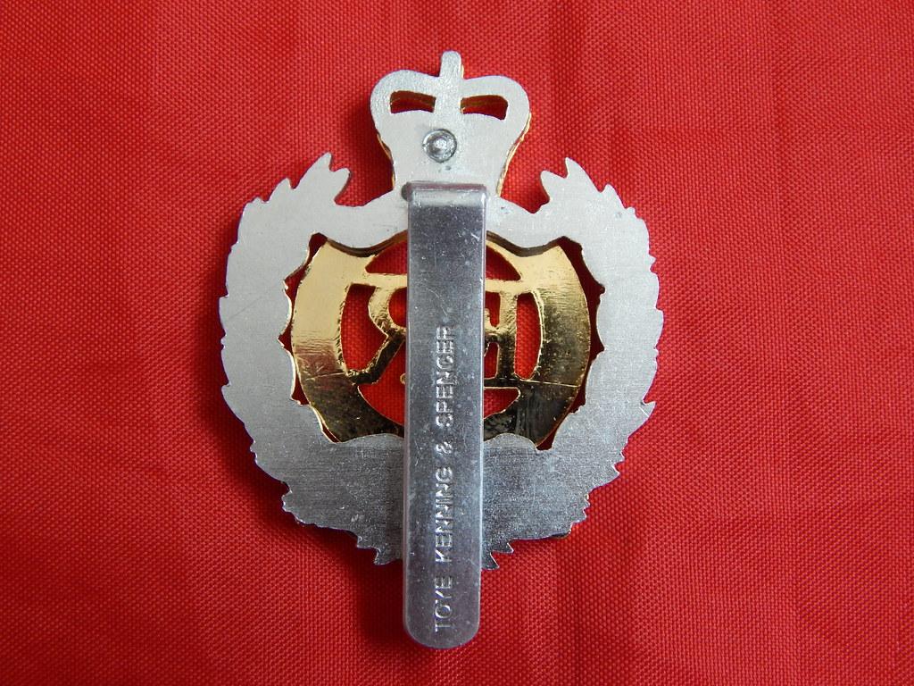 Royal Engineers cap badge | Royal Engineers cap badge Toye