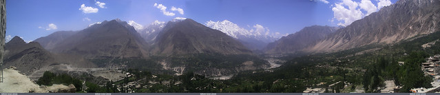 Hunza Valley from Baltit Fort
