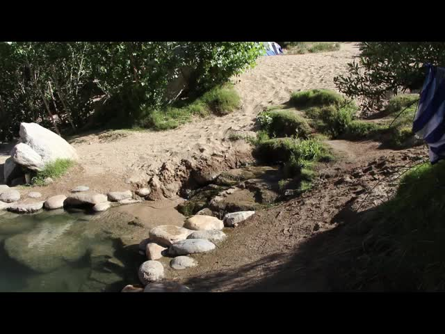 1218 Video of a hot pool at Deep Creek Hot Springs