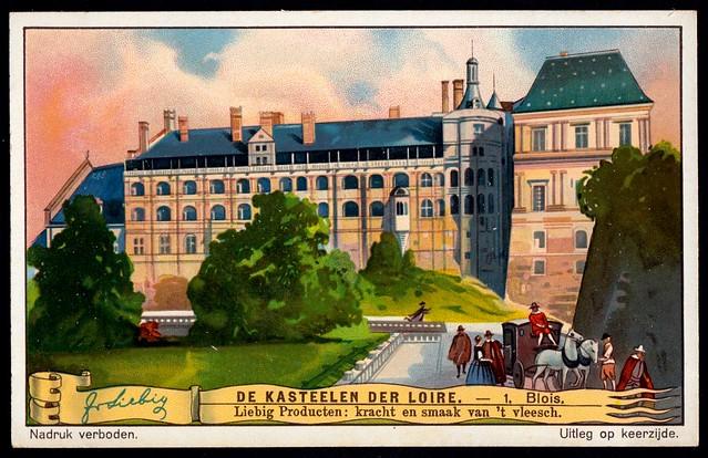 Liebig Tradecard S1272 - Château de Blois