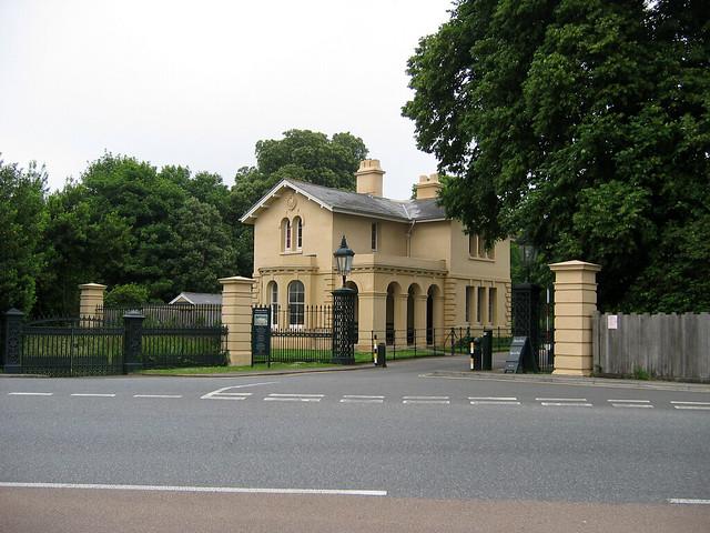 Osborne House gate house