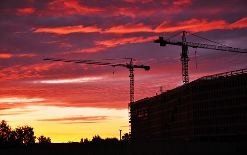 city morning sunrise latvia riga nikond5000