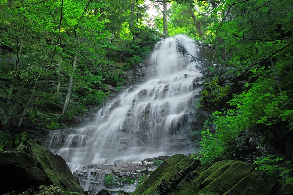 Angel Falls (Upper Drop) (1) | Angel Falls, Sullivan County,… | Flickr