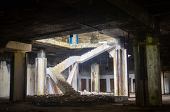 Ruins of Hotel Africa, Monrovia, Liberia