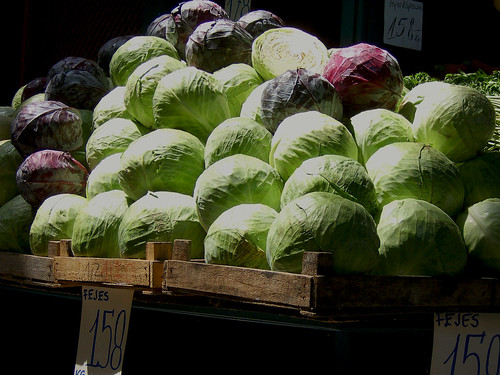 Cabbages on the market | by Rhinofest