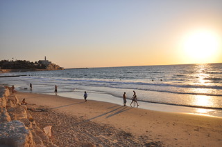 Central Tel Aviv beaches and Jaffa on the background | by Jorge Lascar