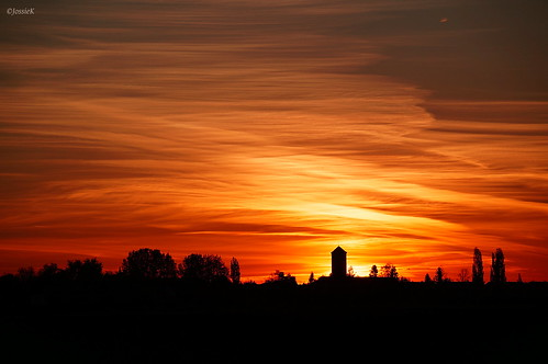 watertower skyline sunrise sky silhouette sonyslta37 sonydt55300mm jossiek
