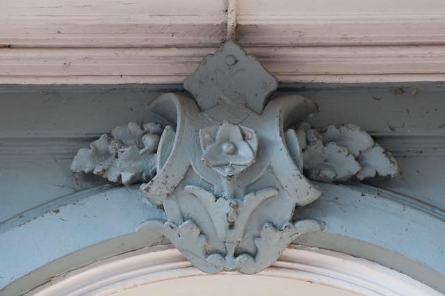 Close-up geveldetail woonhuis George Beens. Foto: Anna van Kooij 2012