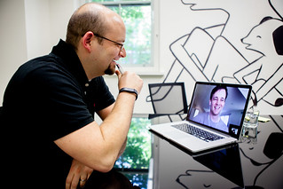 4:06pm - Collis on a Skype call with WordPress Evangelist, Japh Thomson, about meetups   A Day in the Life of the CEO   by envato