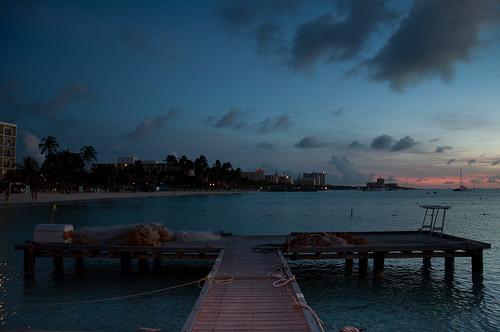 sunset beach atardecer playa aruba palmbeach netherlandsantilles flickraward antillasholandesas flickrtravelaward