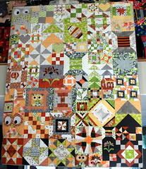 My Favorite Block Quilt Along Quilt - FINISHED