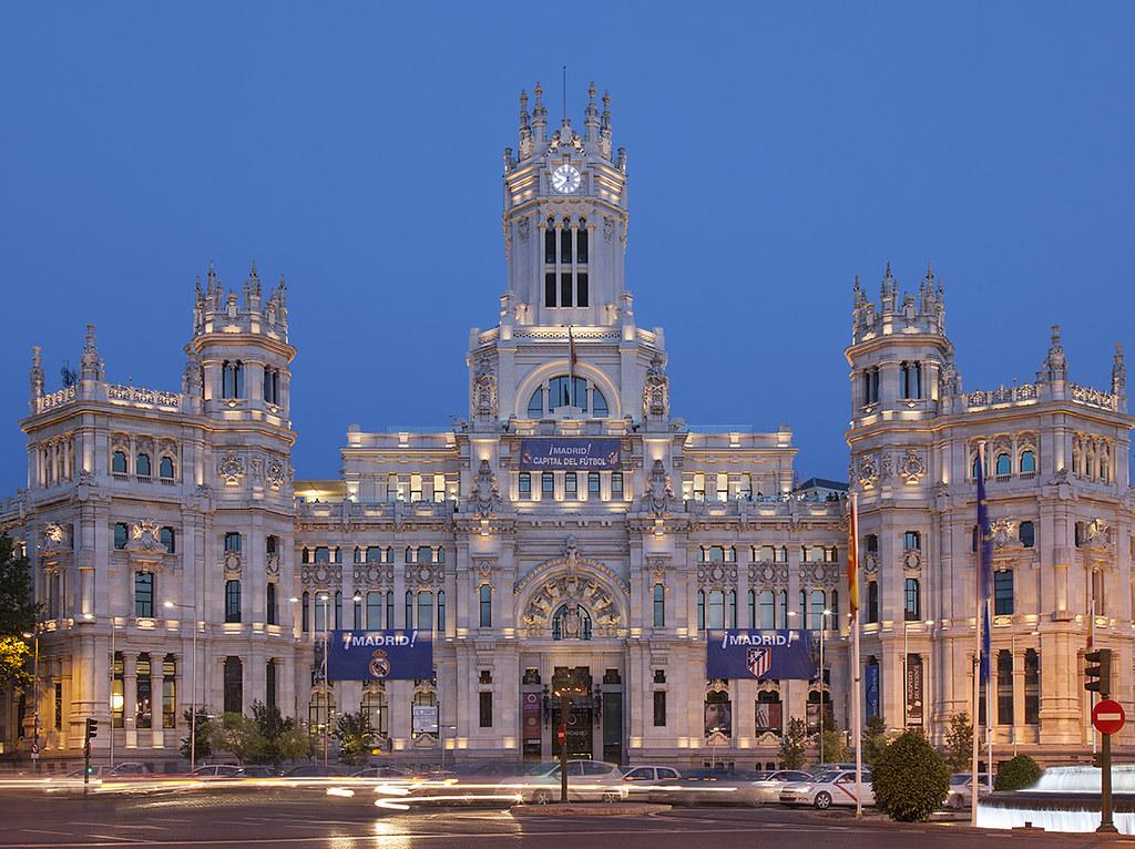 Palacio De Cibeles Madrid Originally The Headquarters Of