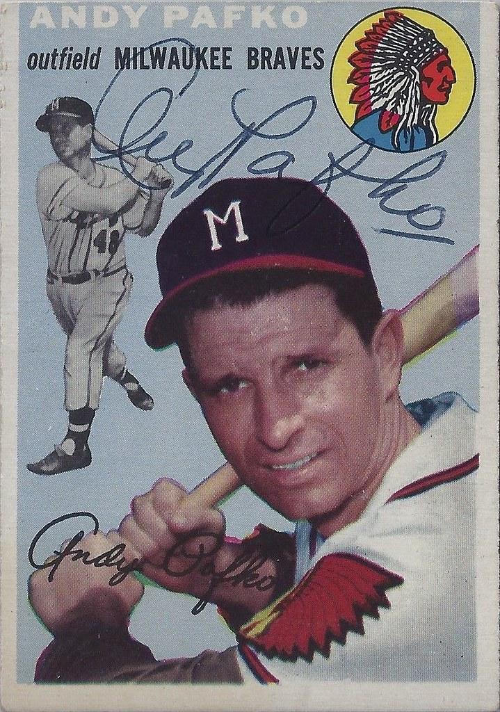 1954 Topps Andy Pafko 79 Outfielder B 25 Feb 1921 Flickr