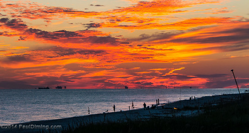 sunset fall beach gulfofmexico clouds landscape fishing fisherman unitedstates alabama sunsets dailyphoto gulfshores baldwincounty gulfshoresalabama baldwincountyalabama d5000 pauldiming gulfshoresbaldwincounty