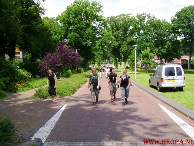 1e dag Amersfoort  40 km  22-06-2007 (49)