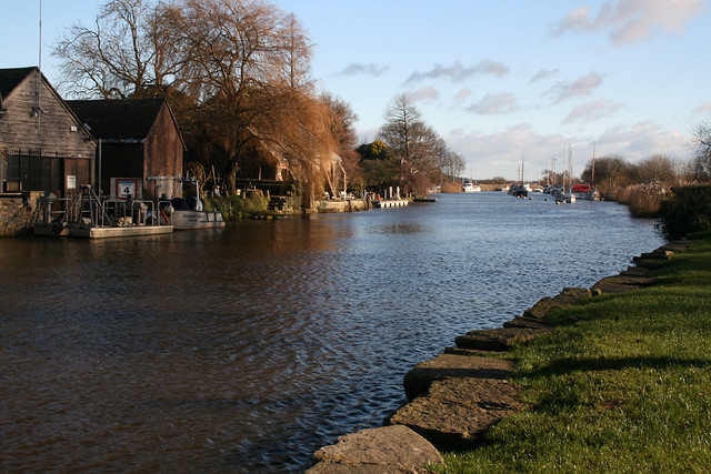 The River Frome, Wareham