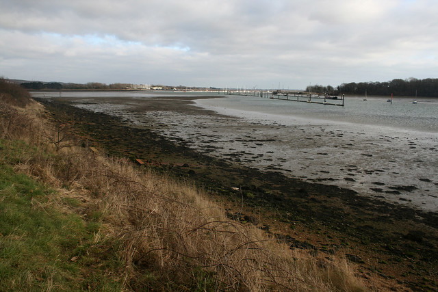Portsmouth harbour near Fareham