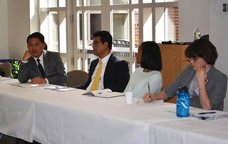 Global Development Roundtable discussion with a focus on human trafficking with Attorney General of Thailand and Tulane Law alum, Trakul Winitnaiyapak