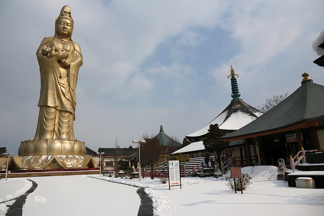 Kaga Kannon stands 73m high