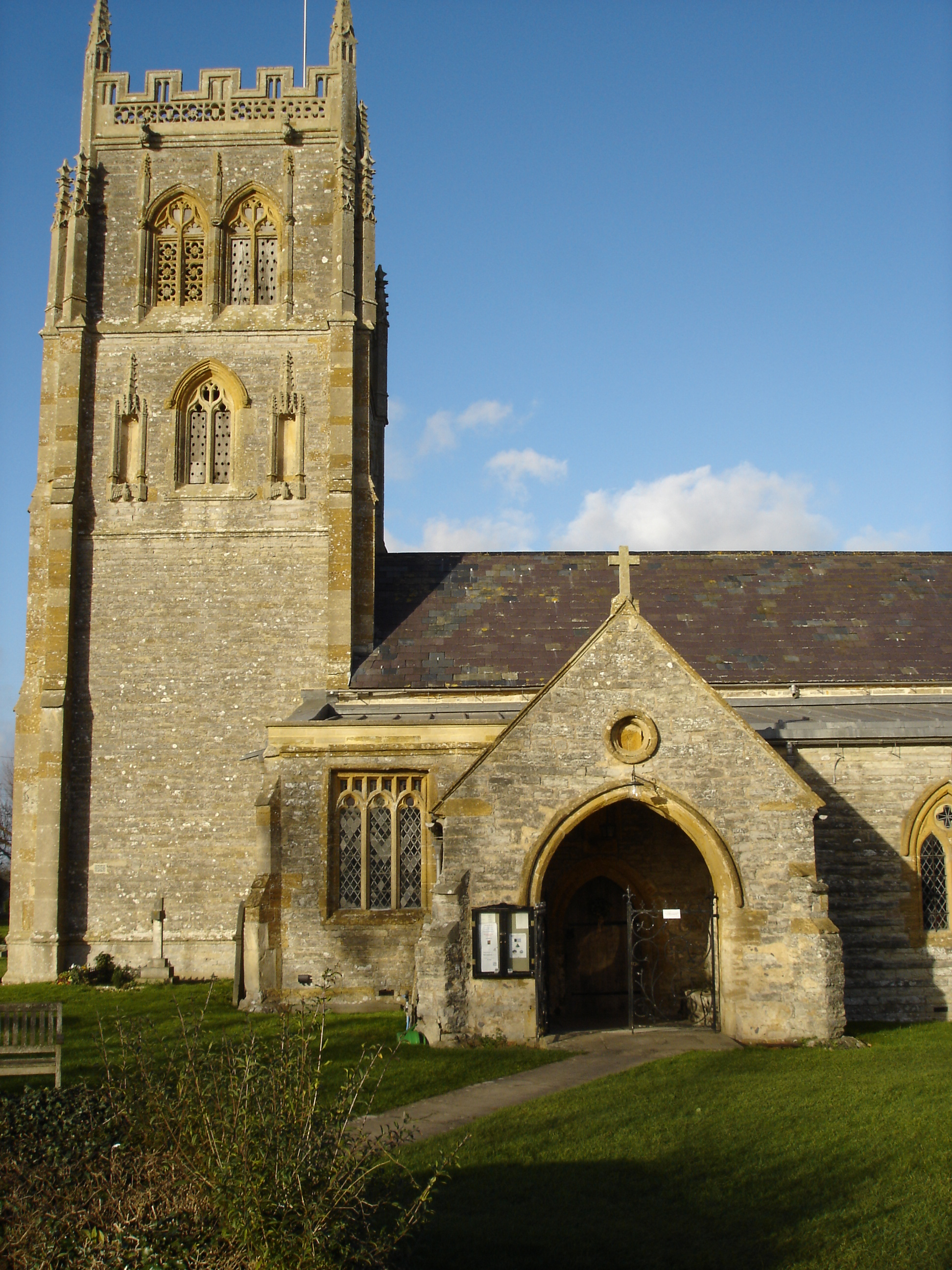 MIDDLEZOY, Holy Cross, Somerset